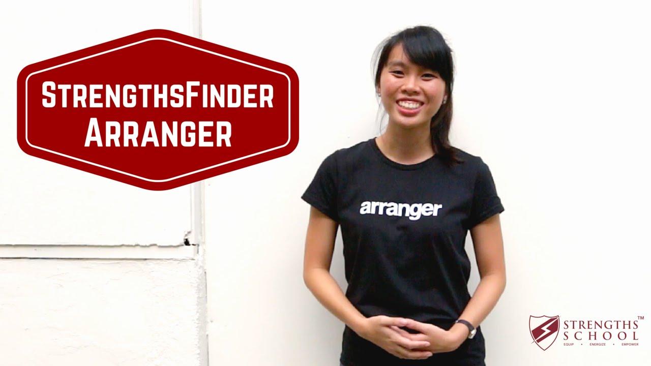 StrengthsFinder 'Arranger' Talent Theme