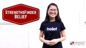 StrengthsFinder 'Belief' Talent Theme