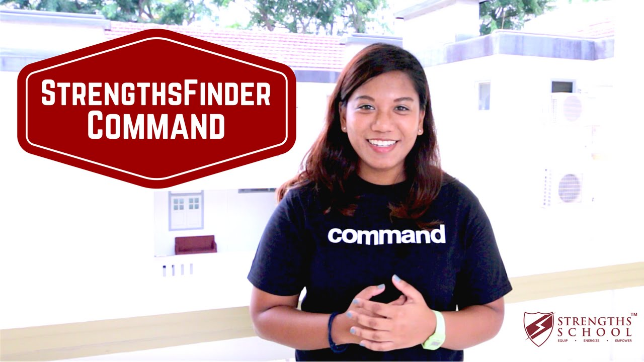 StrengthsFinder 'Command' Talent Theme