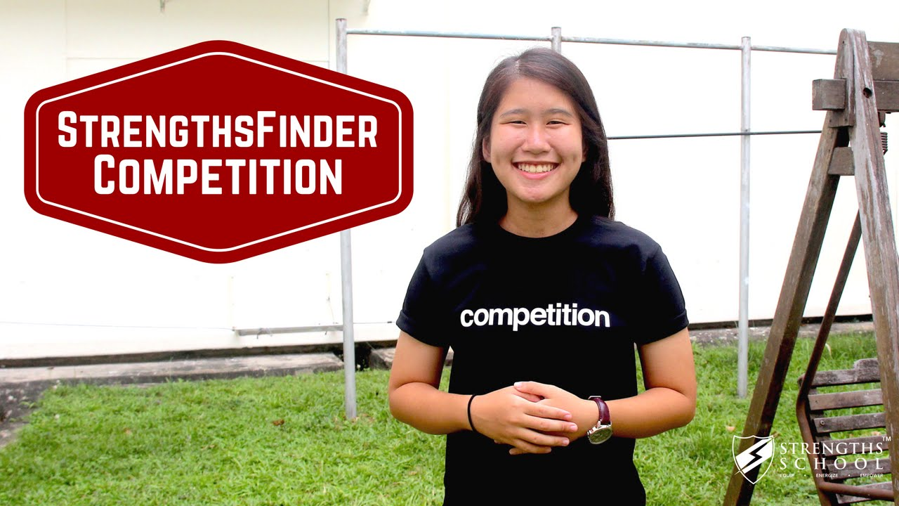 StrengthsFinder 'Competition' Talent Theme