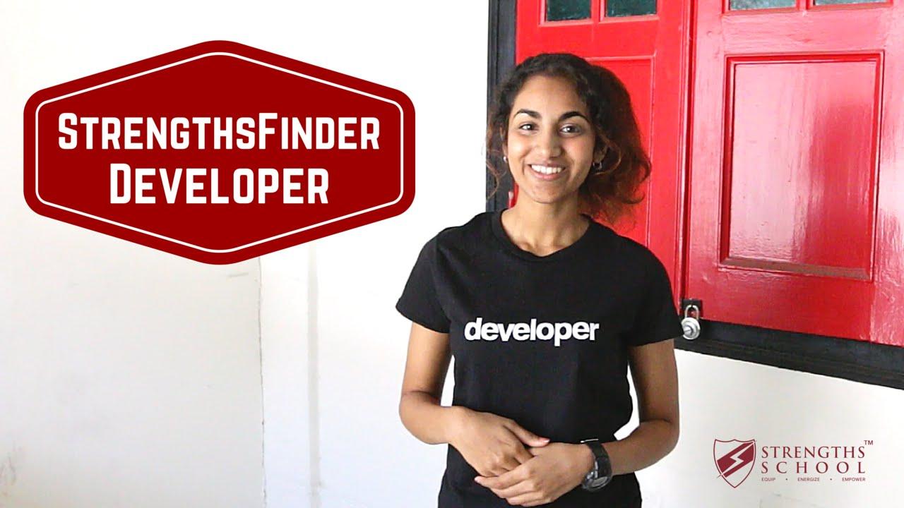 StrengthsFinder 'Developer' Talent Theme