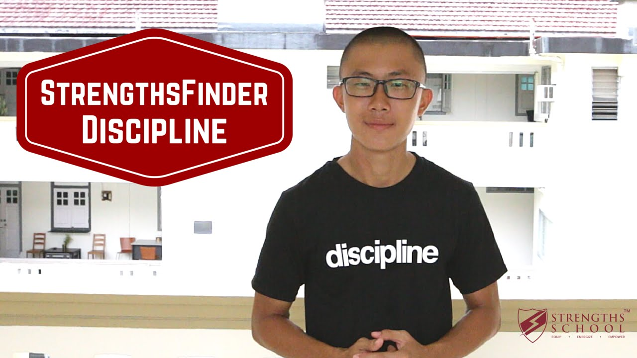 StrengthsFinder 'Discipline' Talent Theme