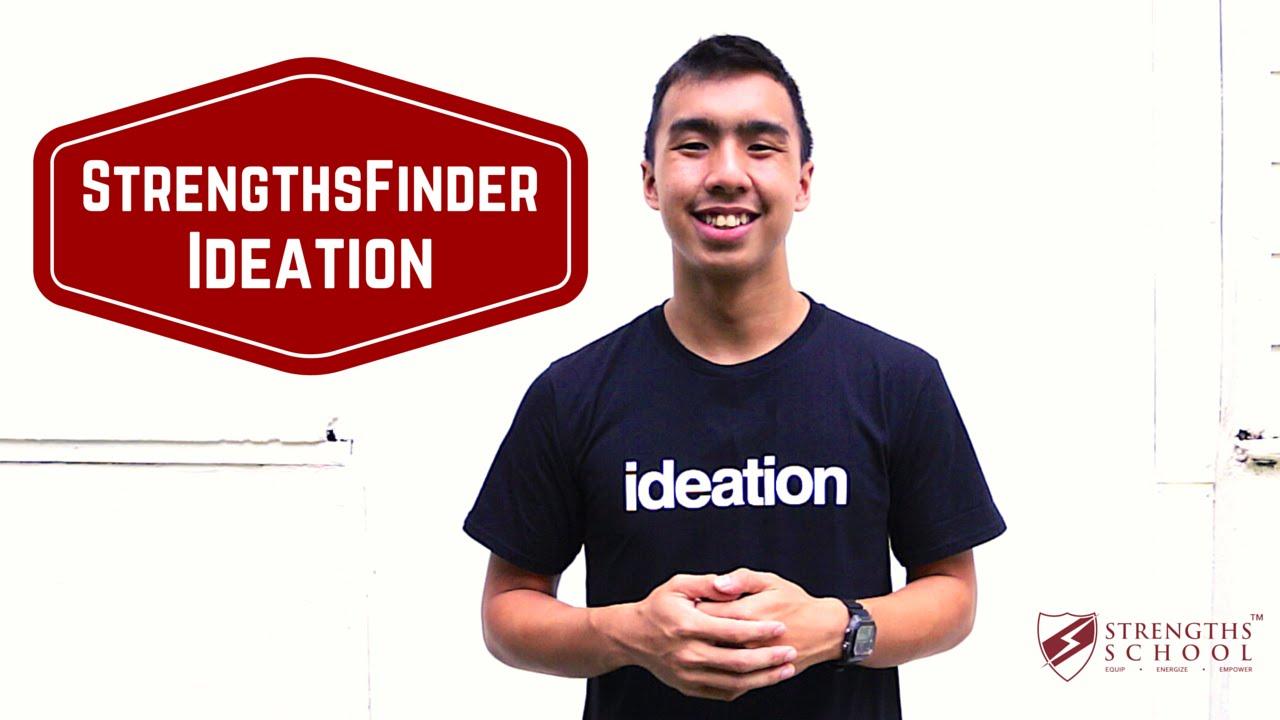 StrengthsFinder 'Ideation' Talent Theme