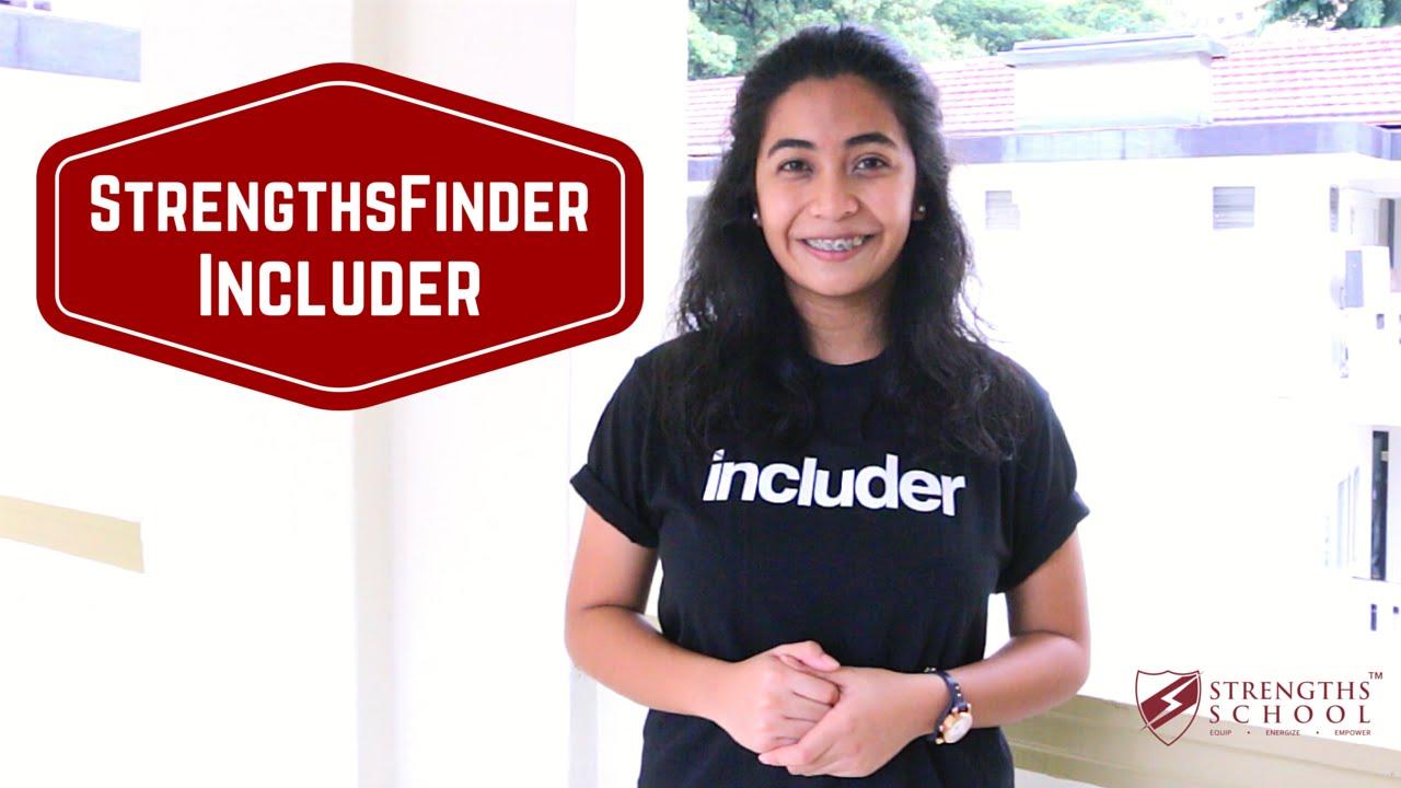 StrengthsFinder 'Includer' Talent Theme