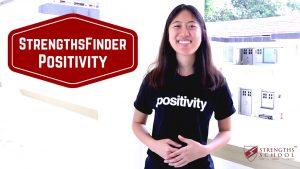StrengthsFinder 'Positivity' Talent Theme