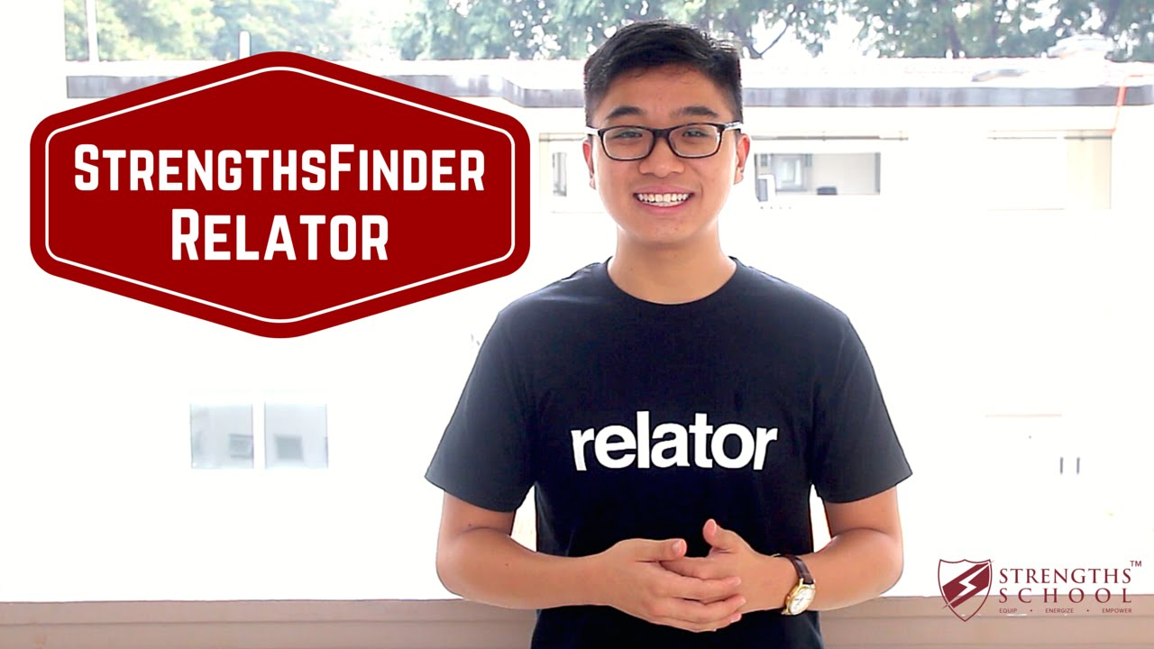StrengthsFinder 'Relator' Talent Theme