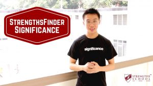 StrengthsFinder 'Significance' Talent Theme
