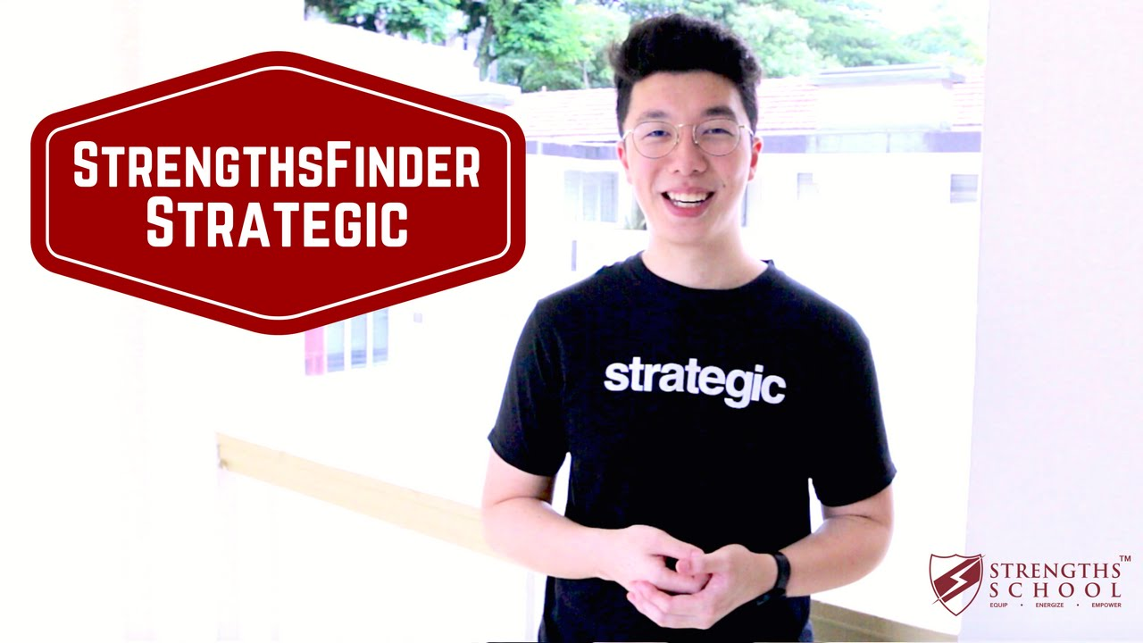StrengthsFinder 'Strategic' Talent Theme