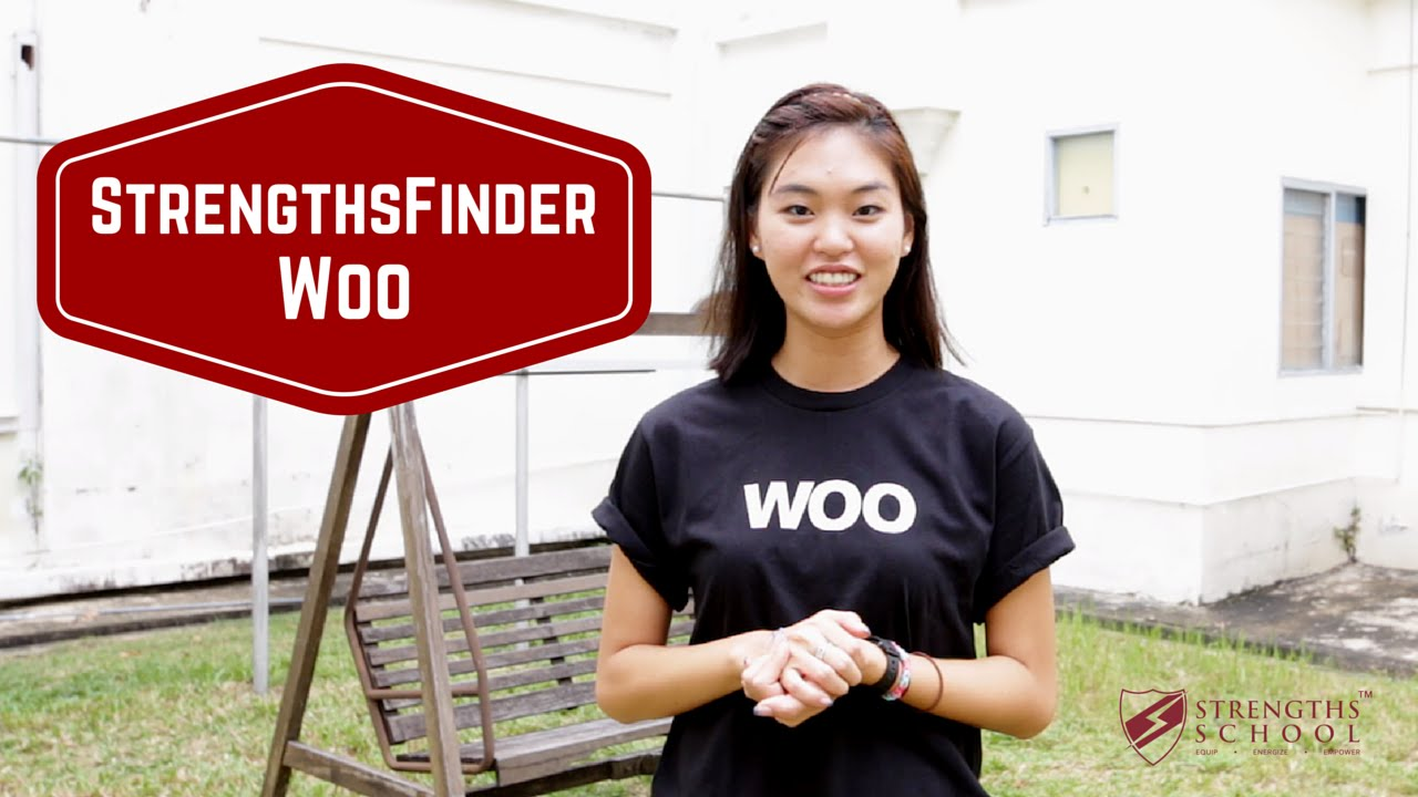 StrengthsFinder 'Woo' Talent Theme
