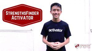 StrengthsFinder 'Activator' Talent Theme
